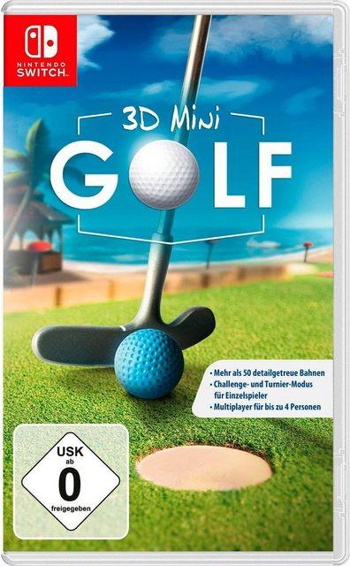 3D Mini Golf Nintendo Switch, Software Pyramide Produktbild