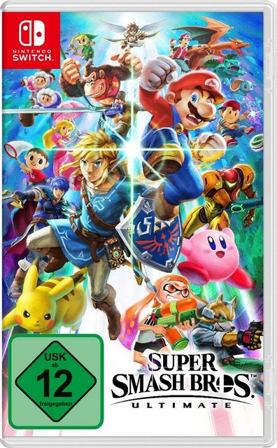 Super Smash Bros. Ultimate Edition Nintendo Switch Produktbild