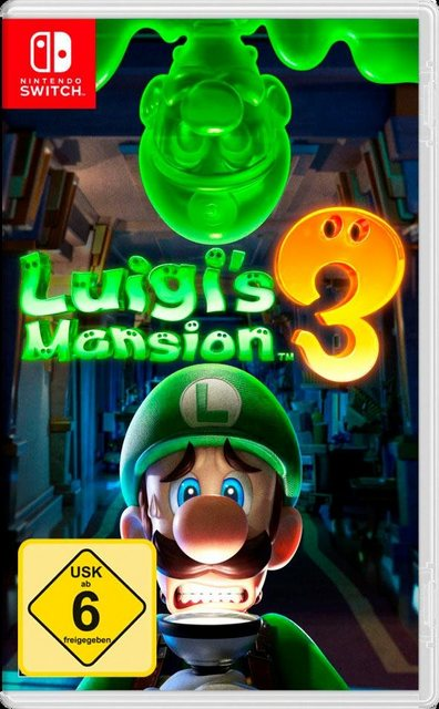 Luigi's Mansion 3 Nintendo Switch Produktbild