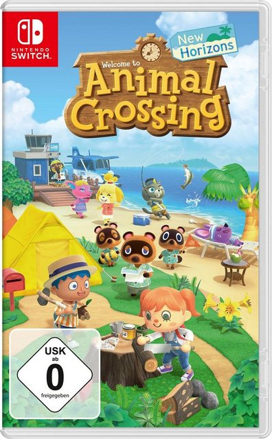 Animal Crossing New Horizons Nintendo Switch Produktbild