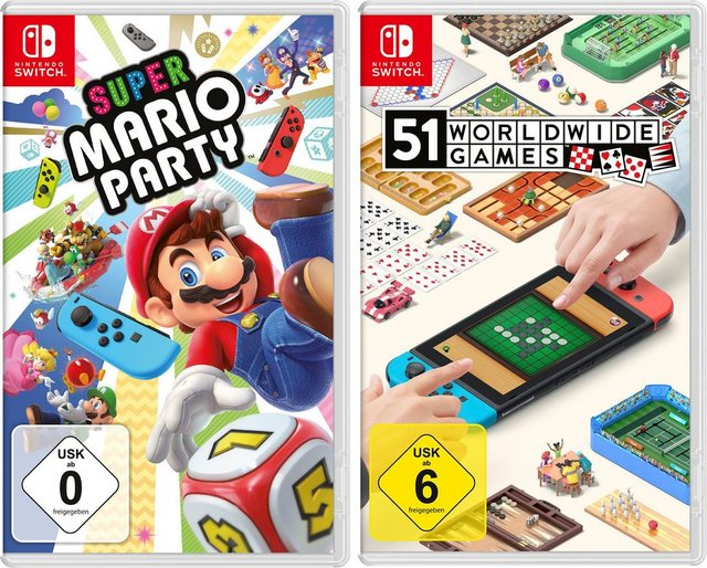 Super Mario Party + 51 Worldwide Games Nintendo Switch Produktbild