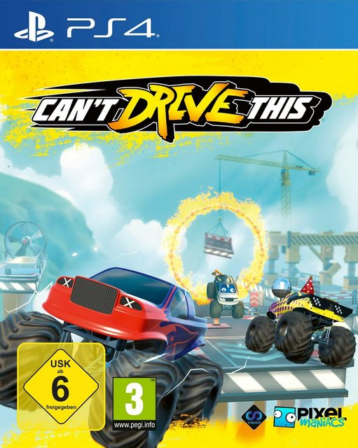 Can't Drive This PlayStation 4 Produktbild
