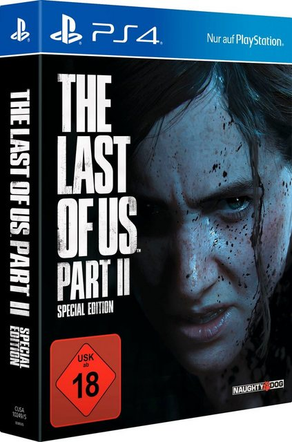 The Last of Us Part II Special Edition PlayStation 4 Produktbild