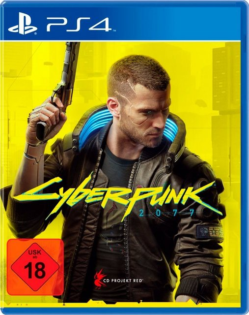 Cyberpunk 2077 - Day 1 Edition PlayStation 4 Produktbild
