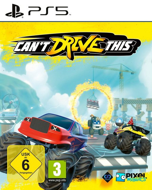 Can't Drive This PlayStation 5 Produktbild