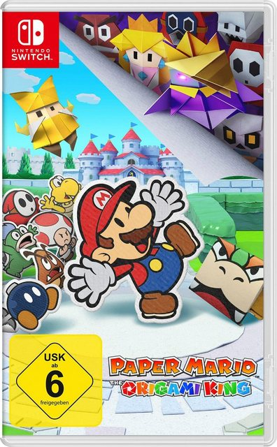 Paper Mario: The Origami King Nintendo Switch Produktbild