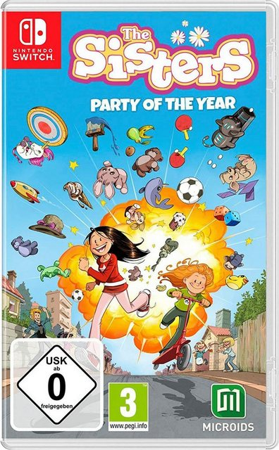 The Sisters: Party of the Year Nintendo Switch Produktbild