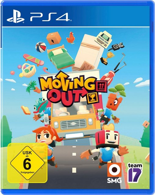 Moving Out PlayStation 4 Produktbild