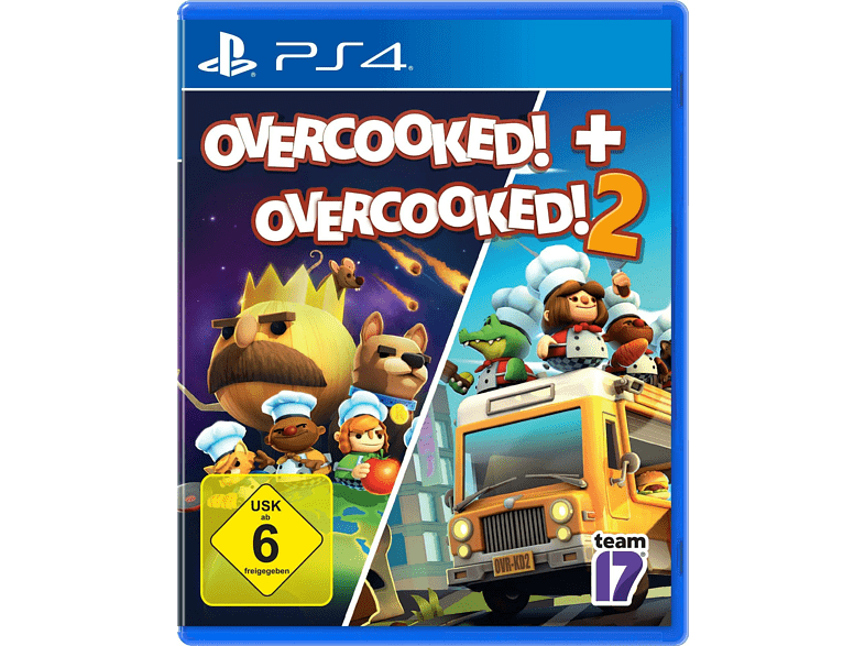Overcooked! + 2 - [PlayStation 4] Produktbild