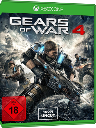 Gears of War 4 - Xbox One Download Code Produktbild