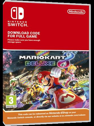Mario Kart 8 Deluxe - Nintendo Switch Download Code Produktbild