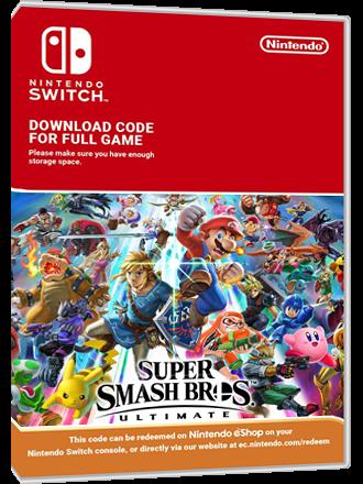 Super Smash Bros Ultimate - Nintendo Switch Download Code Produktbild