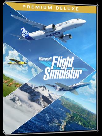 Microsoft Flight Simulator - Premium Deluxe Edition (Windows 10 Key) Produktbild