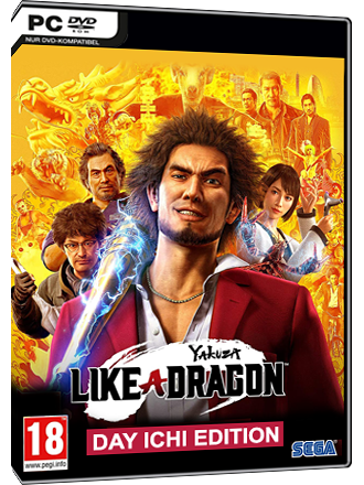 Yakuza - Like a Dragon (Day Ichi Edition) Produktbild