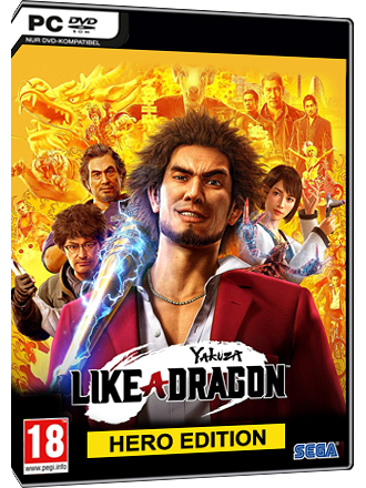 Yakuza - Like a Dragon (Hero Edition) Produktbild