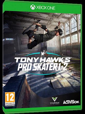 Tony Hawk's Pro Skater 1 + 2 - Xbox One Download Code [EU Key] Produktbild