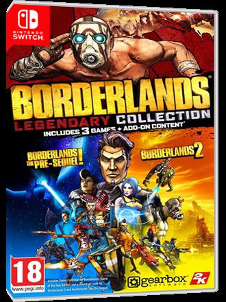 Borderlands Legendary Collection - Nintendo Switch Download Code Produktbild