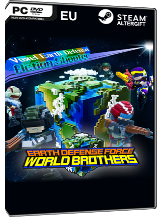 Earth Defense Force - World Brothers [EU Steam Altergift] Produktbild