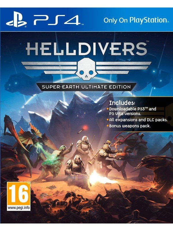 Helldivers: Super-Earth Ultimate - Sony PlayStation 4 - Action - PEGI 16 Produktbild