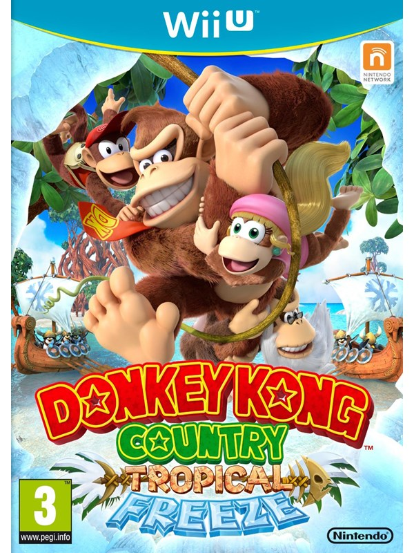 Donkey Kong Country: Tropical Freeze - Nintendo Wii U - Action - PEGI 3 Produktbild
