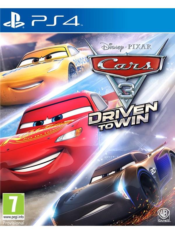 Cars 3: Driven to Win - Sony PlayStation 4 - Rennspiel - PEGI 7 Produktbild