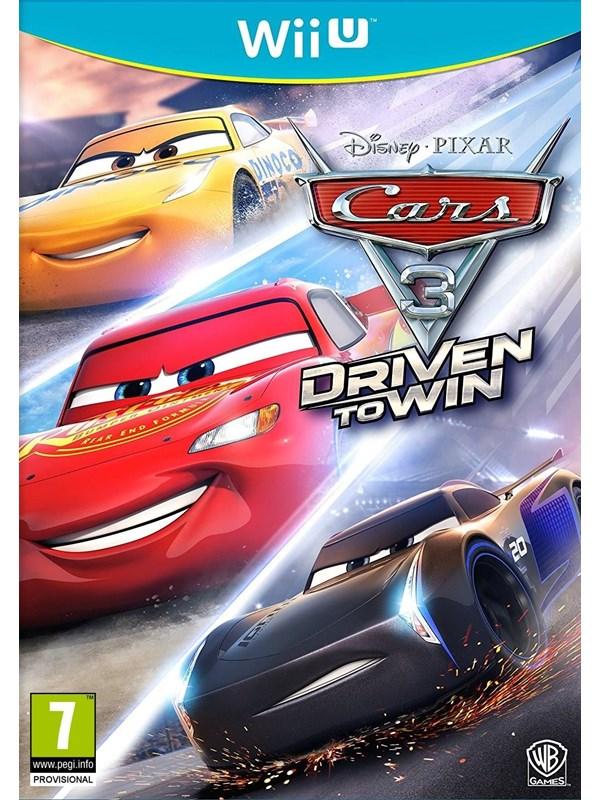 Cars 3: Driven To Win - Nintendo Wii U - Kinder - PEGI 7 Produktbild