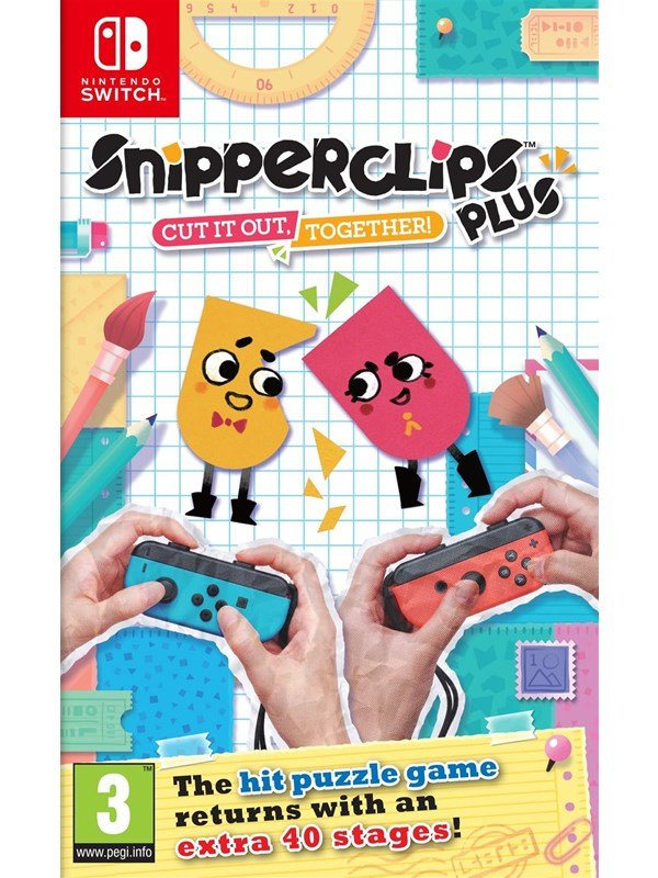 Snipperclips Plus: Cut it out together! - Nintendo Switch - Puzzle - PEGI 3 Produktbild