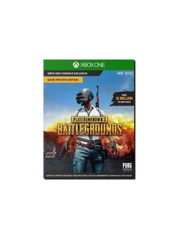 PlayerUnknown's Battlegrounds - Microsoft Xbox One - MMOFPS - PEGI 16 Produktbild