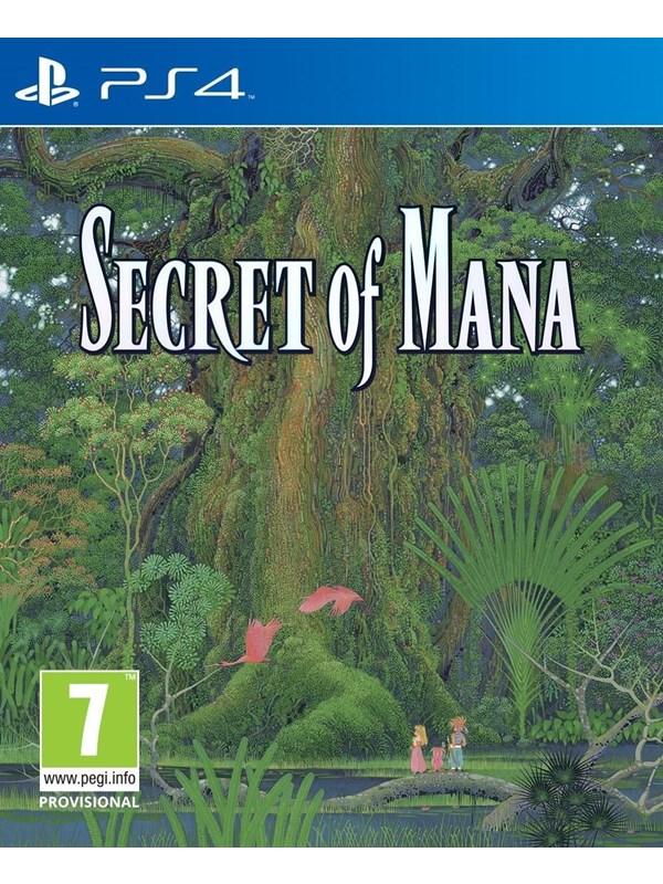 Secret of Mana - Sony PlayStation 4 - RPG - PEGI 7 Produktbild