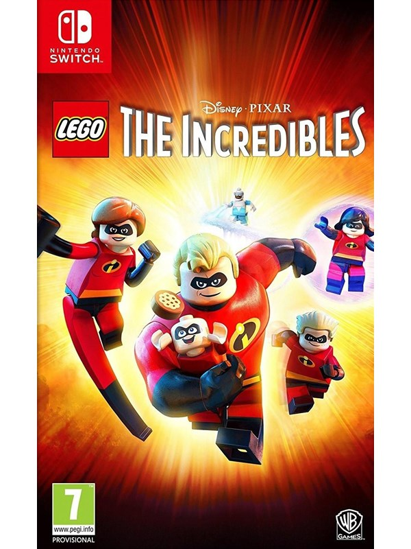 LEGO The Incredibles - Nintendo Switch - Abenteuer - PEGI 7 Produktbild