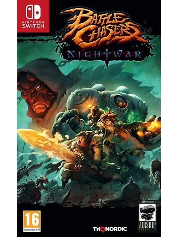 Battle Chasers: Nightwar - Nintendo Switch - RPG - PEGI 16 Produktbild