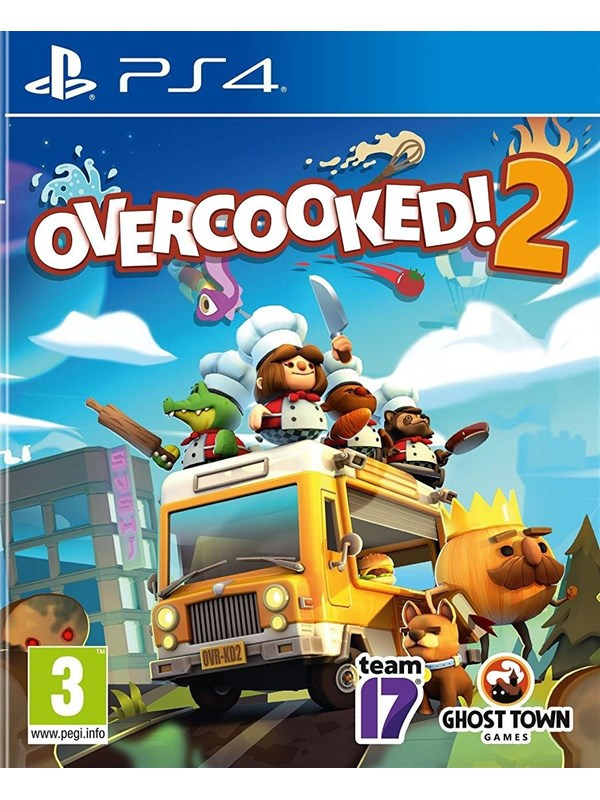 Overcooked! 2 - Sony PlayStation 4 - Party - PEGI 3 Produktbild