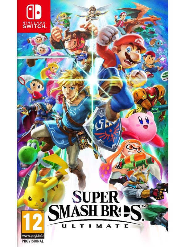 Super Smash Bros. Ultimate - Nintendo Switch - Fighting - PEGI 12 Produktbild