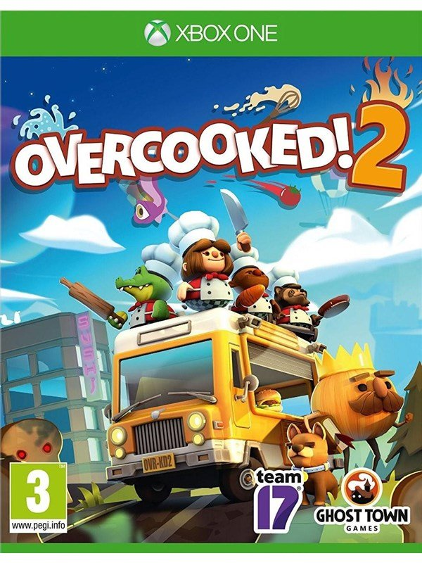 Overcooked! 2 - Microsoft Xbox One - Party - PEGI 3 Produktbild