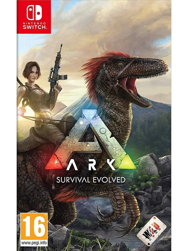 ARK: Survival Evolved (Code in a Box) - Nintendo Switch - Action/Abenteuer - PEGI 16 Produktbild