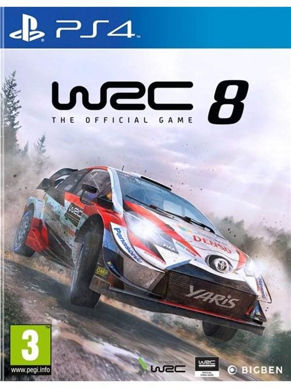 WRC 8 - Sony PlayStation 4 - Rennspiel - PEGI 3 Produktbild
