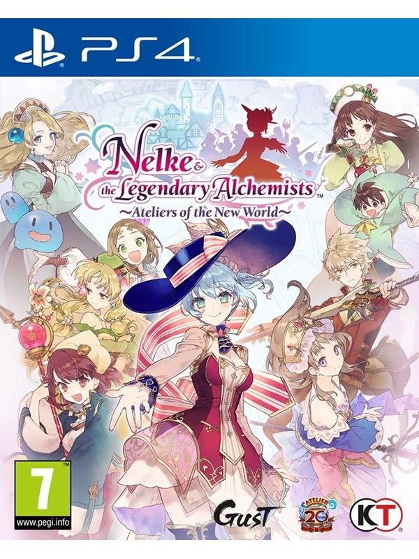 Nelke & the Legendary Alchemist: Ateliers of the New World - Sony PlayStation 4 - RPG - PEGI 7 Produktbild