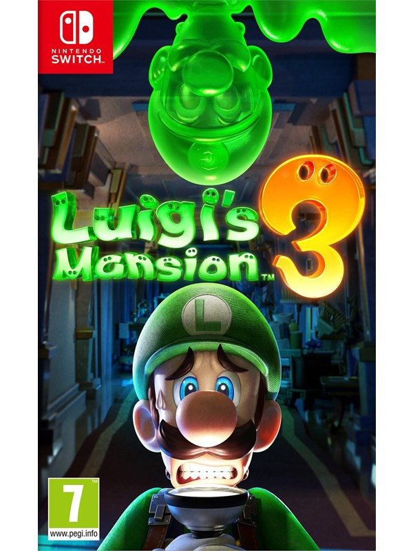 Luigi's Mansion 3 - Nintendo Switch - Action/Abenteuer - PEGI 7 Produktbild