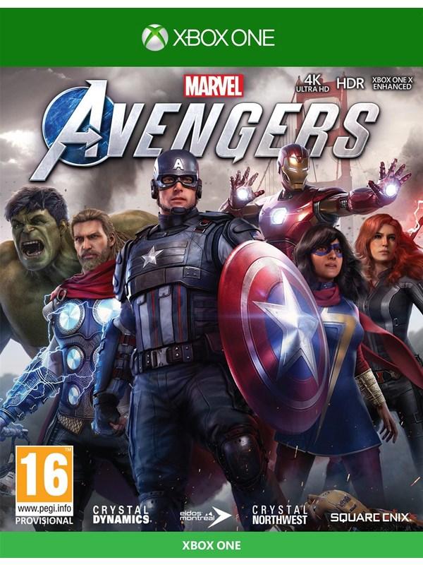 Marvel's Avengers - Microsoft Xbox One - Action/Abenteuer - PEGI 16 Produktbild