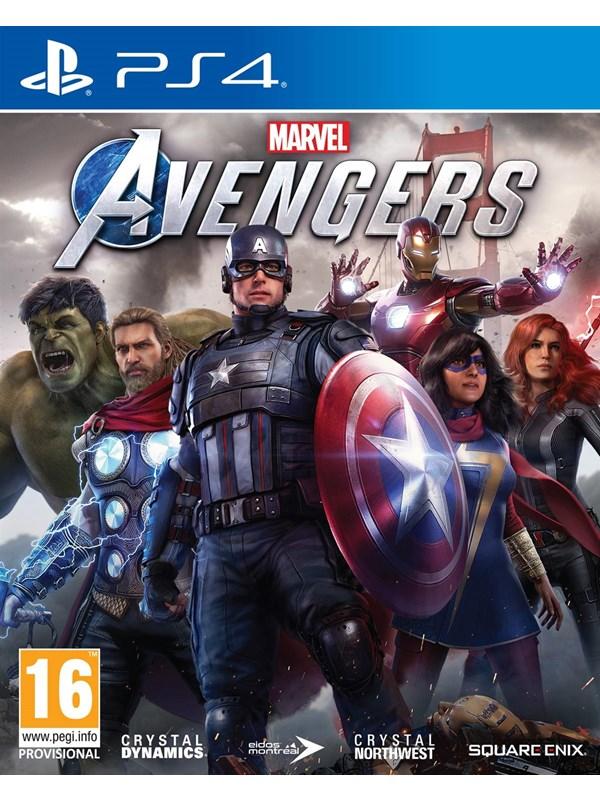 Marvel's Avengers - Sony PlayStation 4 - Action/Abenteuer - PEGI 16 Produktbild
