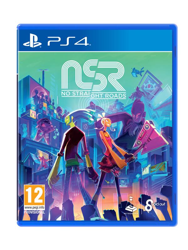 No Straight Roads - Sony PlayStation 4 - Action/Abenteuer - PEGI 12 Produktbild