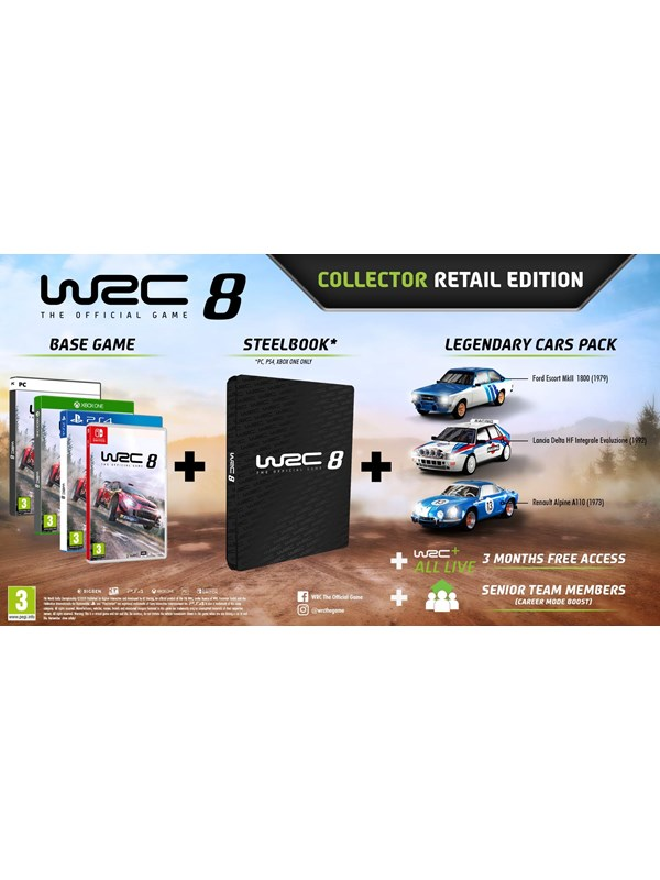 WRC 8 - Collectors Edition - Windows - Rennspiel - PEGI 3 Produktbild