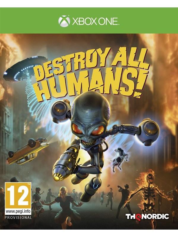 Destroy all Humans! - Microsoft Xbox One - Action/Abenteuer - PEGI 12 Produktbild