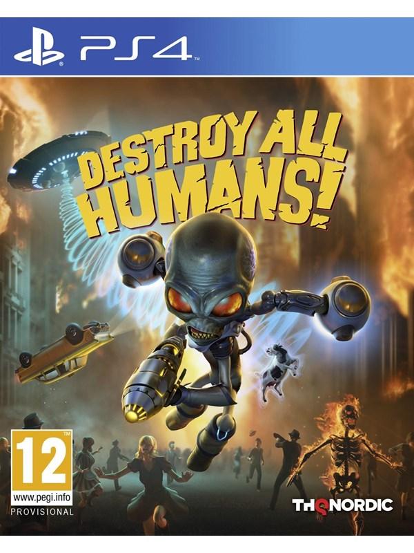 Destroy all Humans! - Sony PlayStation 4 - Action/Abenteuer - PEGI 12 Produktbild
