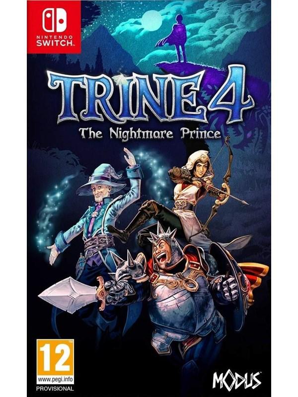 Trine 4: The Nightmare Prince - Nintendo Switch - Platformer - PEGI 12 Produktbild