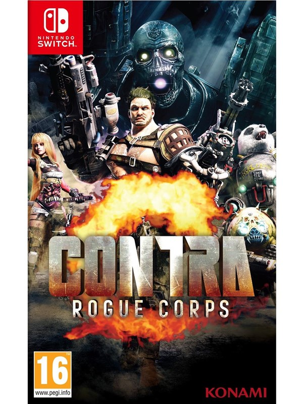 Contra: Rogue Corps - Nintendo Switch - Action - PEGI 16 Produktbild