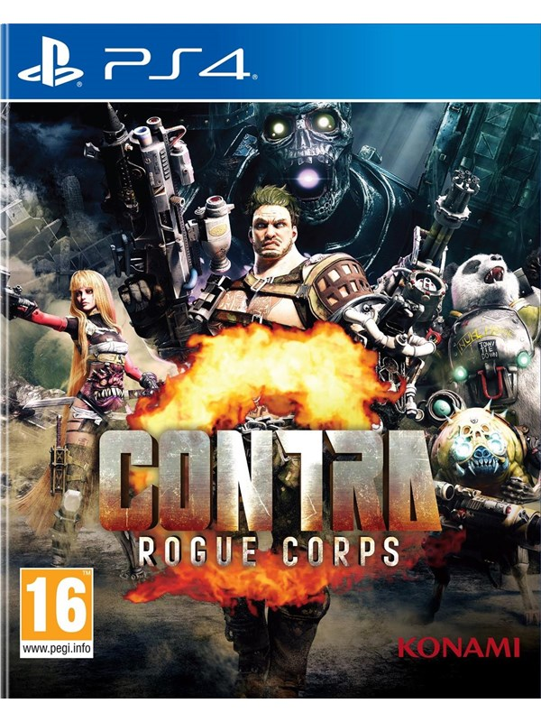 Contra: Rogue Corps - Sony PlayStation 4 - Action - PEGI 16 Produktbild