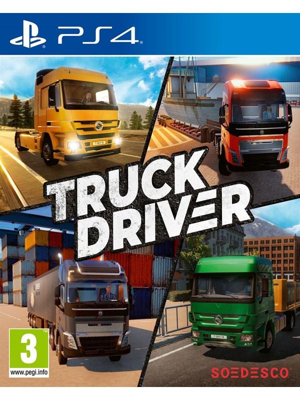 Truck Driver - Sony PlayStation 4 - Simulator - PEGI 3 Produktbild