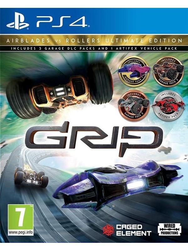 Grip: Combat Racing - Rollers Vs Airblades - Ultimate Edition - Sony PlayStation 4 - Rennspiel - PEG Produktbild