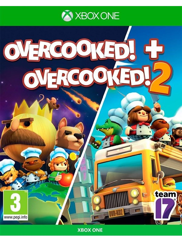 Overcooked! 1 & 2 - Microsoft Xbox One - Party - PEGI 3 Produktbild